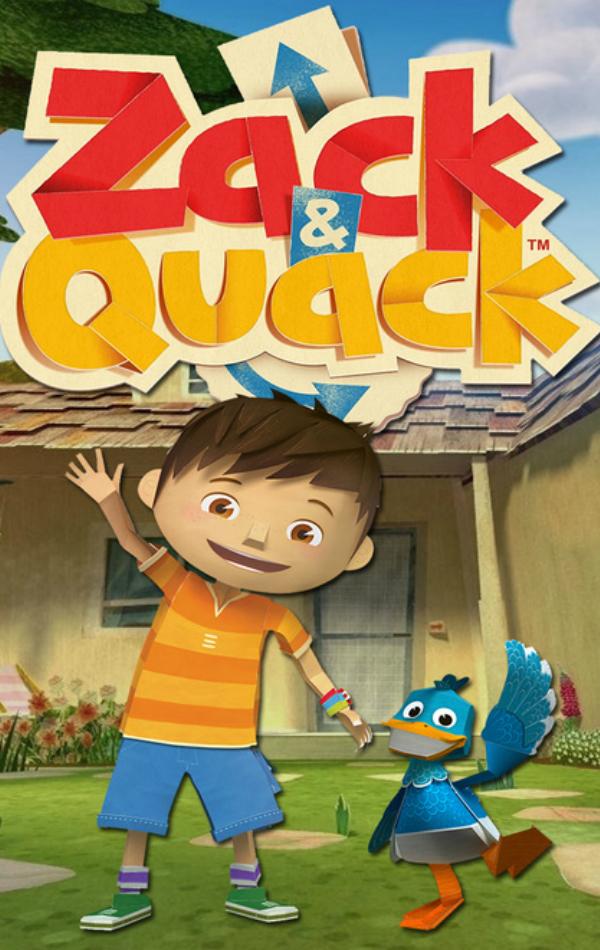 Taron Egerton Zack & Quack Temporada 1 - SensaCine.com