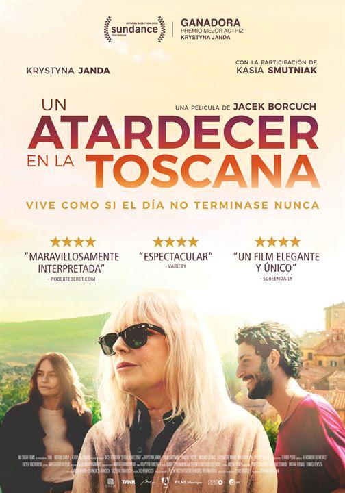 Resultado de imagen de cartel Un atardecer en La Toscana