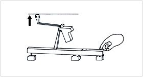 The mechanism invented by Cristofori