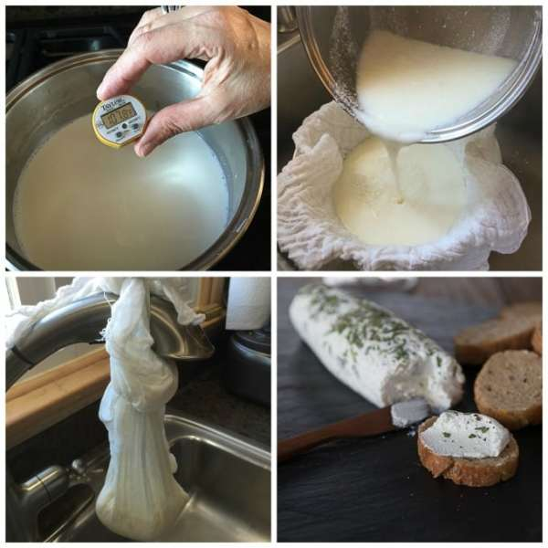 How to Make Goat Cheese Recipe Chèvre Analida39s Ethnic