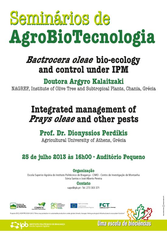 Seminários em Agrobiotecnologia