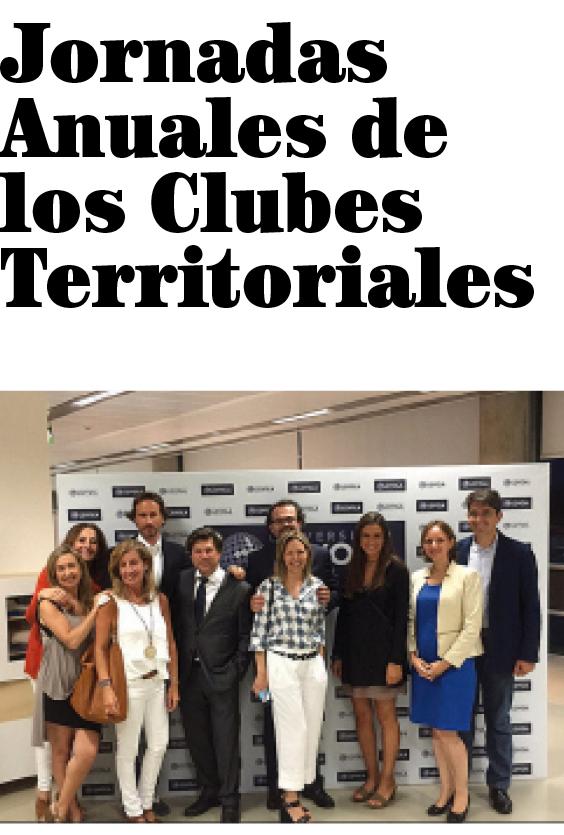 Jornadas Anuales de los Clubes Territoriales
