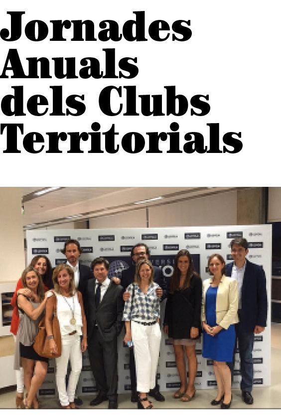 Jornades Anuals dels Clubs Territorials