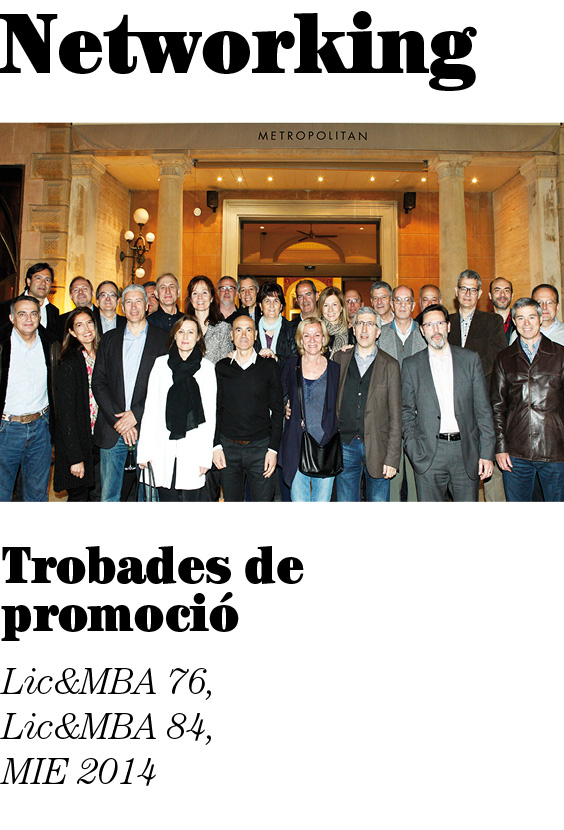 Networking, abril