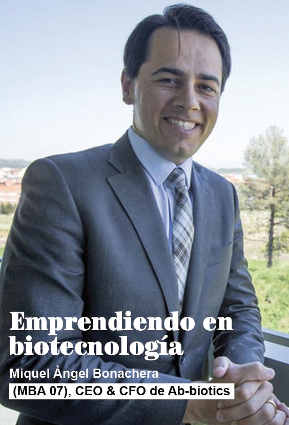 Emprendiendo en biotecnología