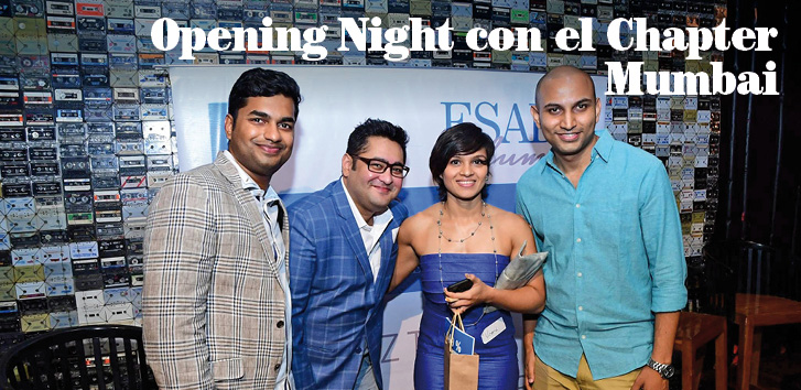 Opening Night con el Chapter ESADE Alumni Mumbai