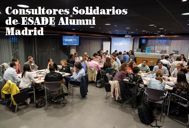 Consultores Solidarios de ESADE Alumni Madrid: fuente de inspiración para todos los alumni