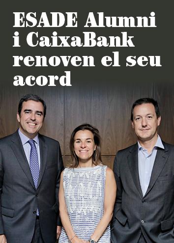 CaixaBank renova com a patrocinador i soci financer d'ESADE Alumni