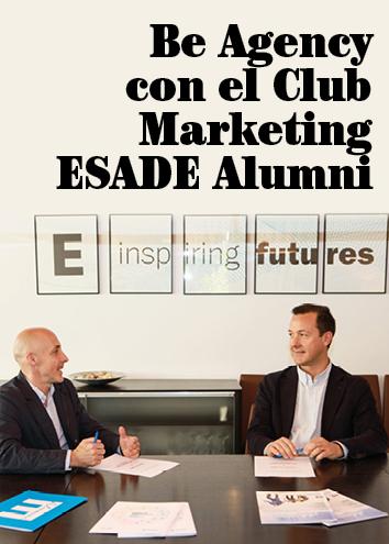 Be Agency, patrocinador del Club Màrqueting ESADE Alumni