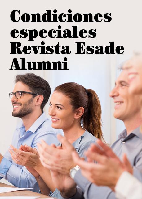 Condiciones especiales Revista Esade Alumni