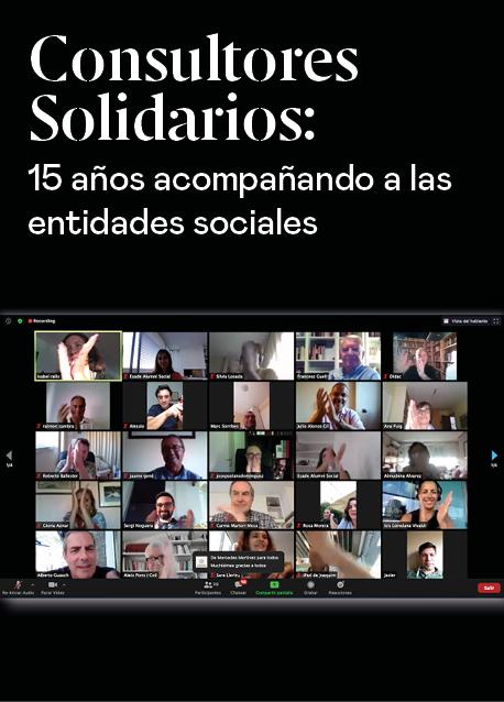 Consultores Solidarios: 15 años acompañando a las entidades sociales