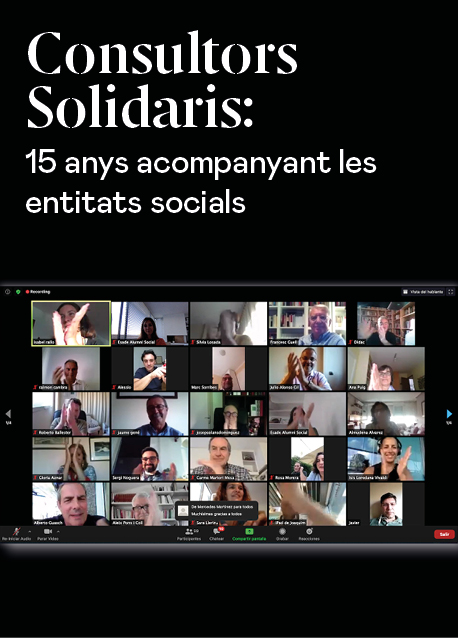 Consultors Solidaris: 15 anys acompanyant les entitats socials