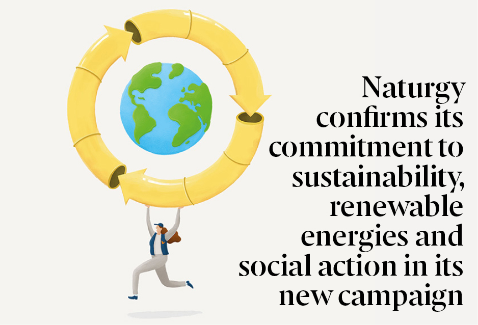 Naturgy confirms its commitment to sustainability, renewable energies and social action in its new campaign