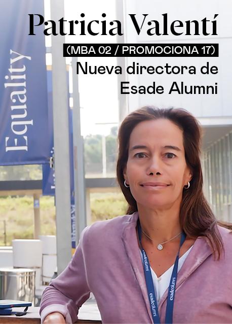 Relevo en la Dirección de Esade Alumni