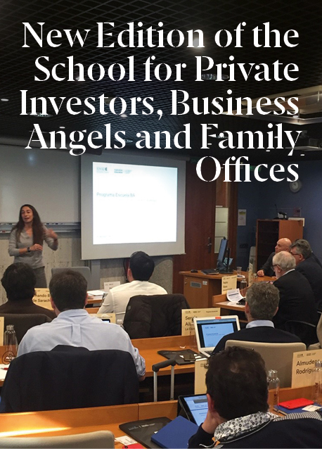 New Edition of the School for Private Investors, Business Angels and Family Offices