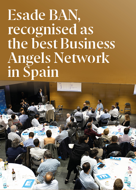 Esade BAN Recognised as Best Business Angels Network in Spain