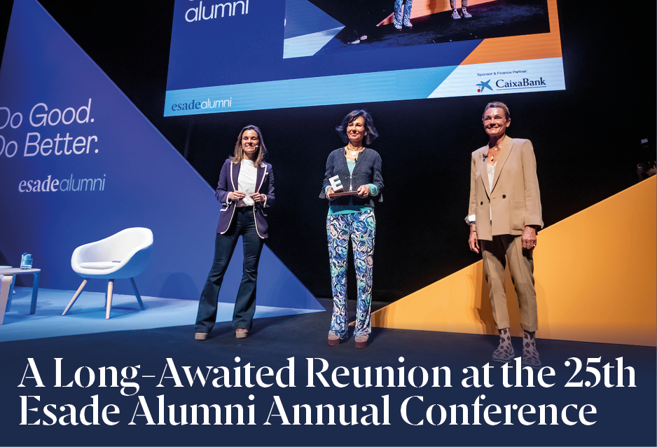 A Long-Awaited Reunion at the 25th Esade Alumni Annual Conference
