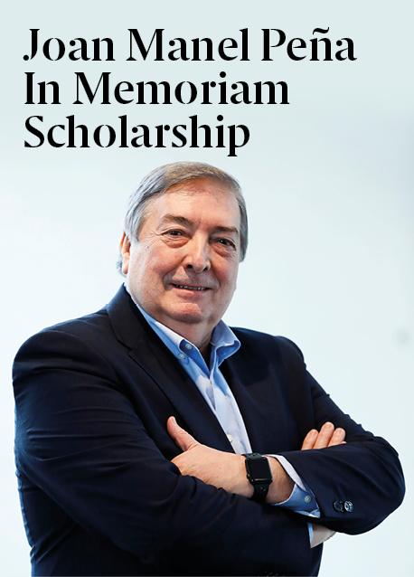 Joan Manel Peña Memorial Scholarship