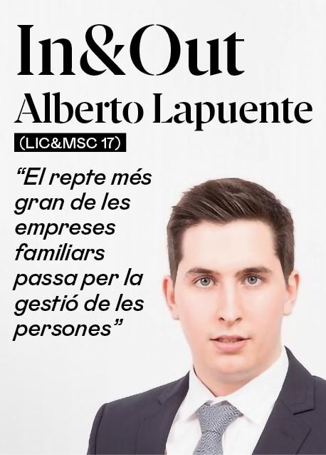 """Alberto Lapuente (Lic&MSC 17): """"El repte més gran a les empreses familiars passa per la gestió de les persones"""""""