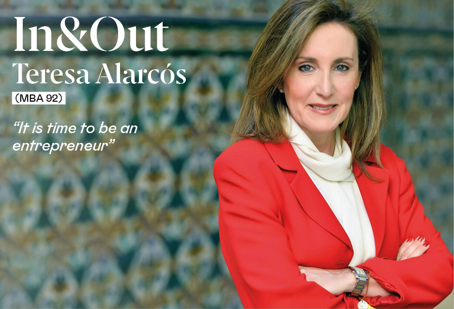 """Teresa Alarcós (MBA '92): """"The culture of entrepreneurship is being built now, and now is the time to dare"""""""