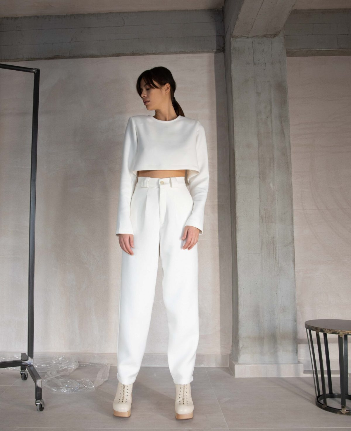 top and pants for casual and comfy look