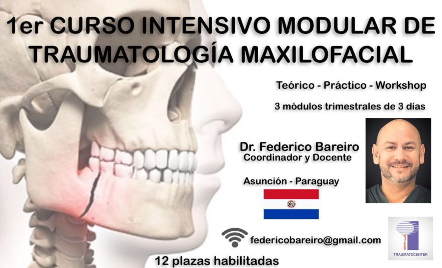 Curso Intensivo Modular de Traumatología Maxilofacial