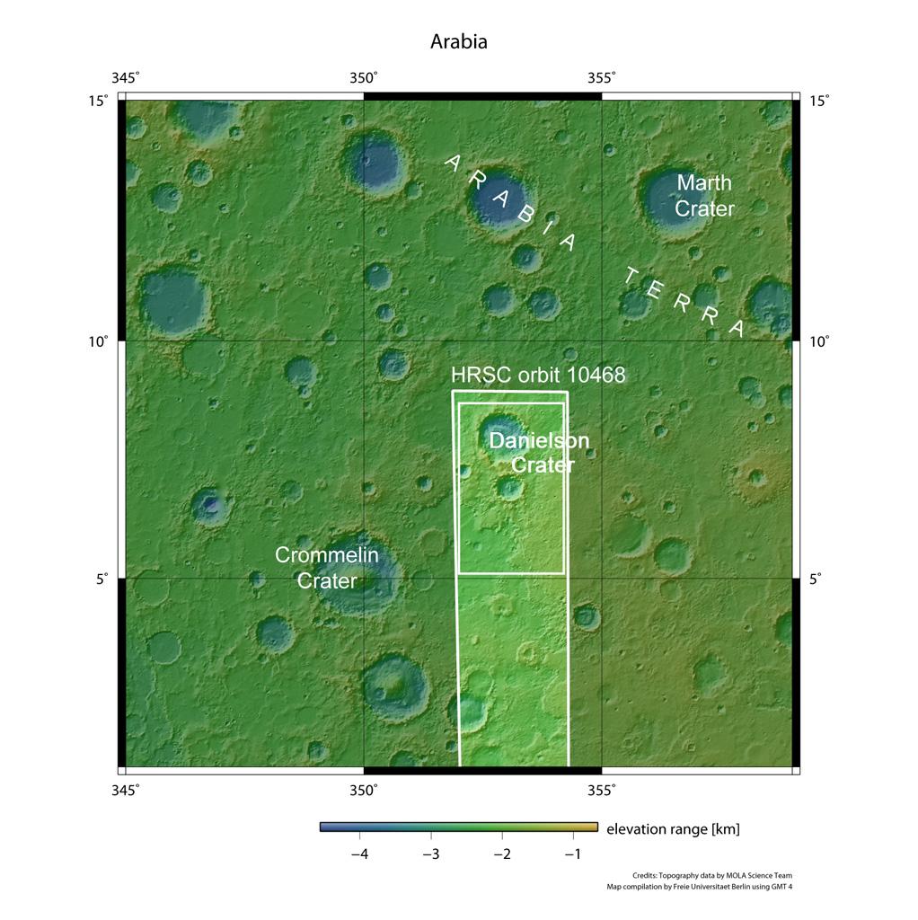 entorno crateres