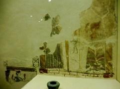 Mycenean fresco showing evidence of Minoan influences. ca. 1300 B.C.