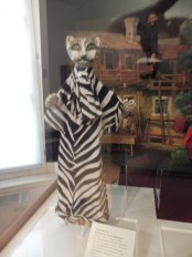 A cat puppet at the remarkable Carlo Schmidl Theatrical Museum in the Palazzo Gopcevich, Trieste.