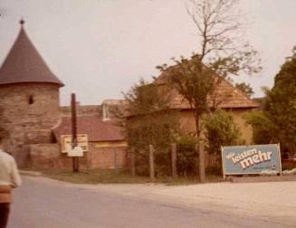 Marchegg's Schloss in 1970