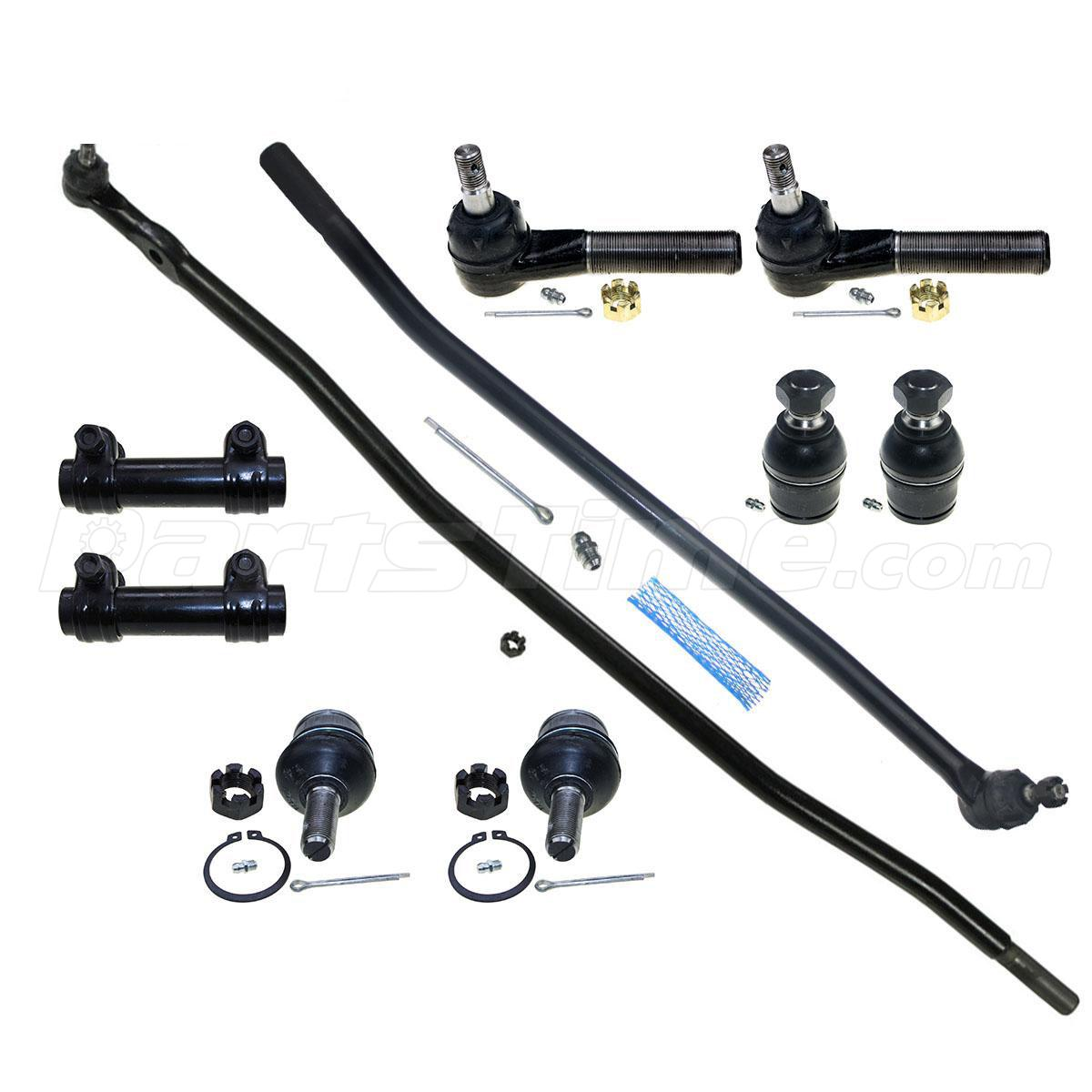 10 Pcs Suspension Ball Joint Tie Rod Ends For 93 94