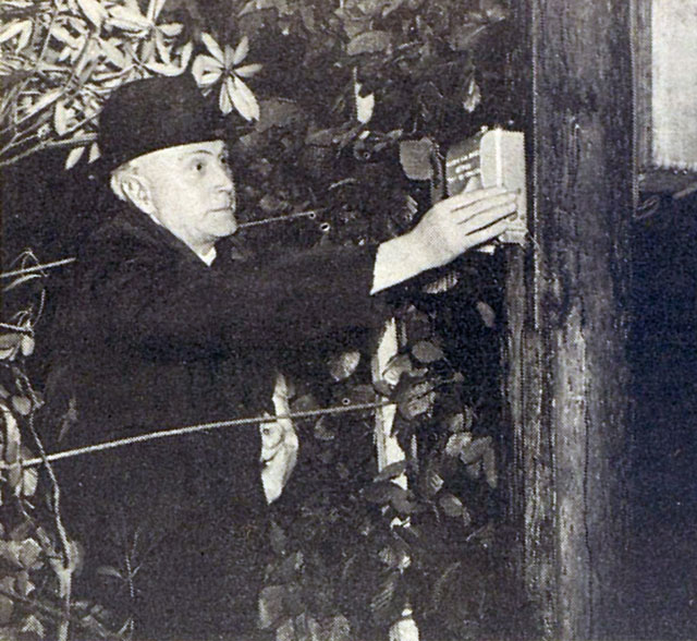 Switch on by Parish Priest Very Rev Cannon JM Hayes at Bansha, 24 May 1948