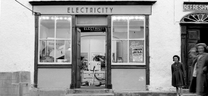 Rural electrification of Blackwater, Co Wexford in 1955