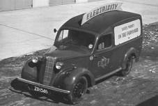 Bedford PA van 1953 reg. ZO 1546