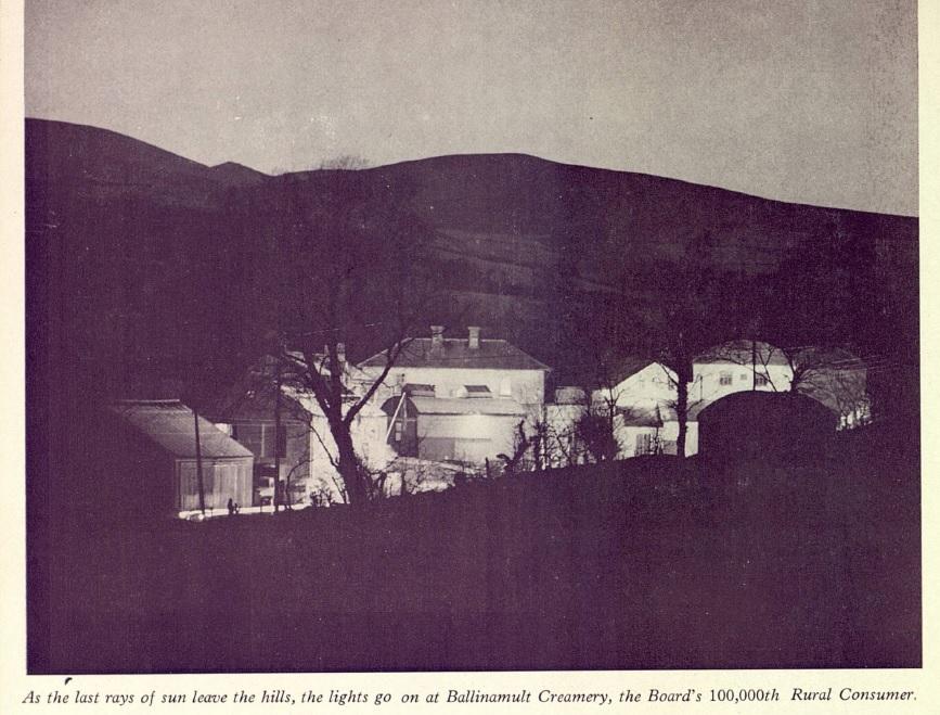 Ballinamult Creamery, 100,000th Rural Consumer, ESB Journal August 1963