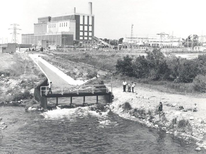 Shannonbridge station, c1970s