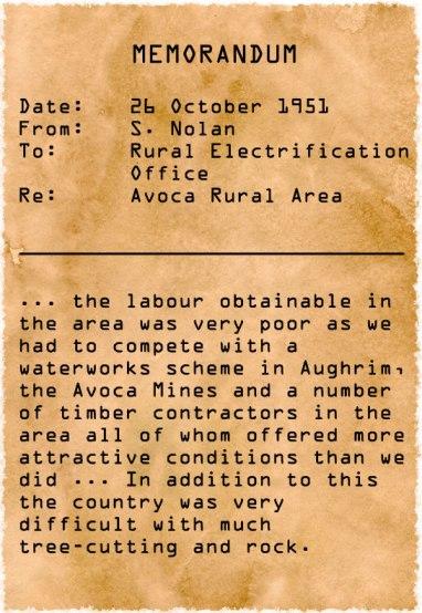 Memorandum, 26 October 1951