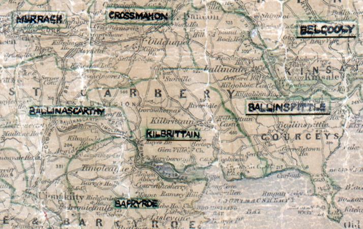 Kilbrittain-Map-cork
