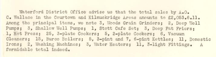 Killmuckridge-R.E.O.-September-1950-P