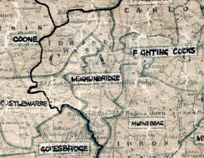 Milford-Leighlinbridge-map-portlaoise