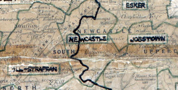 Newcastle-map-dublin