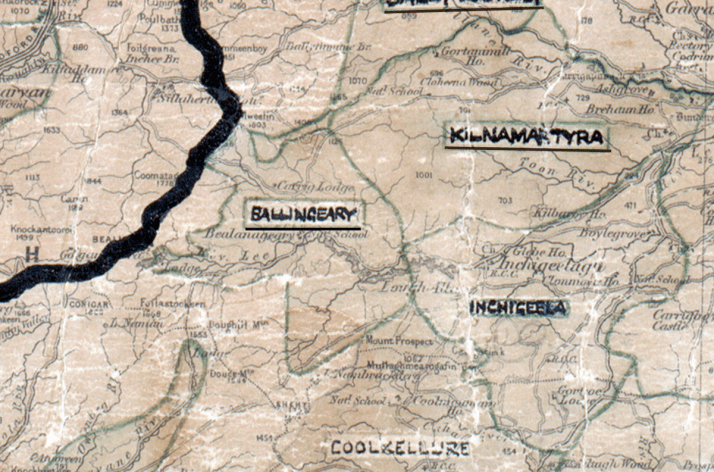 Ballingeary-Map-cork