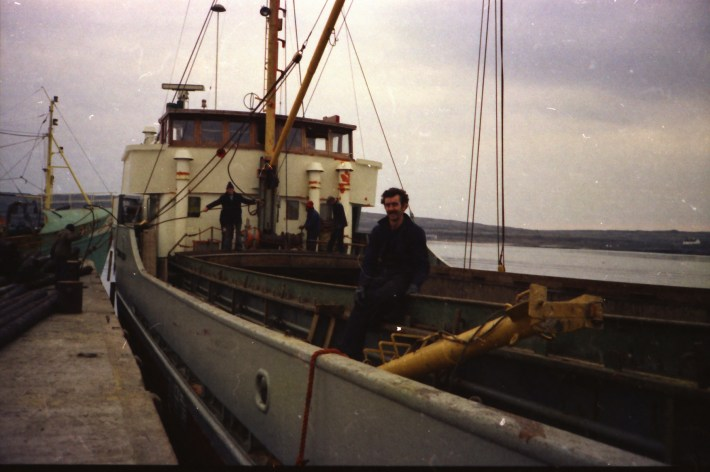 Corbett's colleague on board