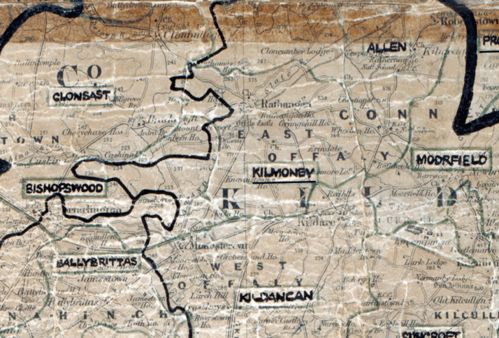 Kilmoney-Map-portlaoise