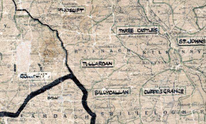 Tullaroan-Map-portlaoise