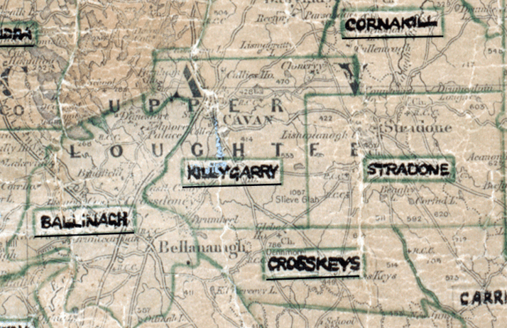 Killygarry-Map-dundalk-big