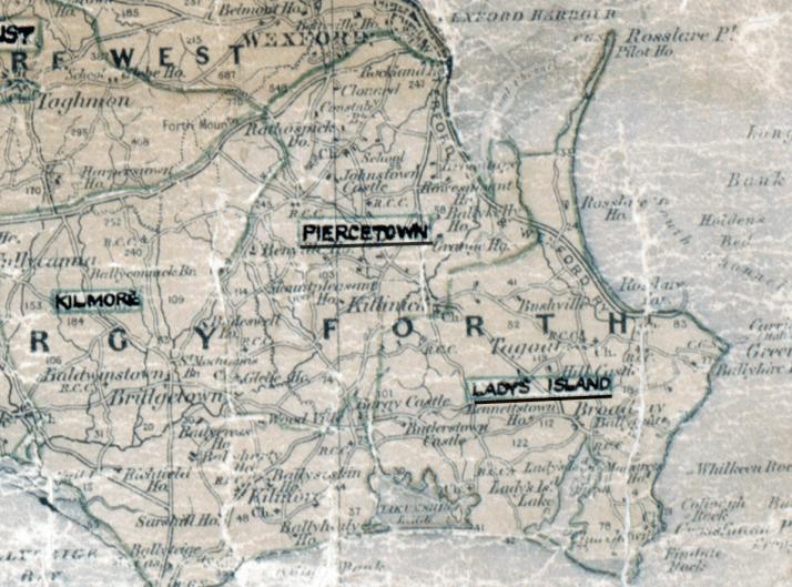 Piercetown-Map-waterford