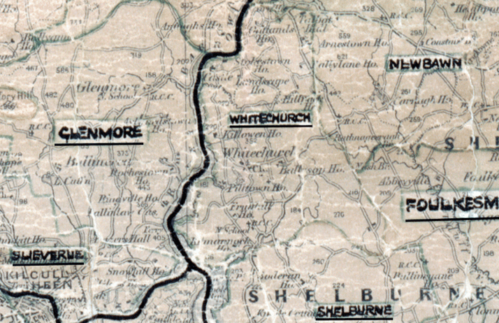 Whitechurch-Map-waterford