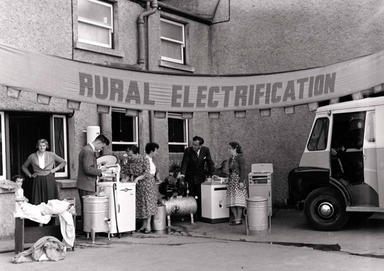 Sean Og Flood Rural Electrification Organiser And All Ireland Football Winner 1957