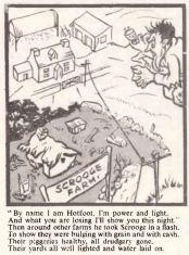 REO News, December 1952, Johnny Hotfoot comic strip